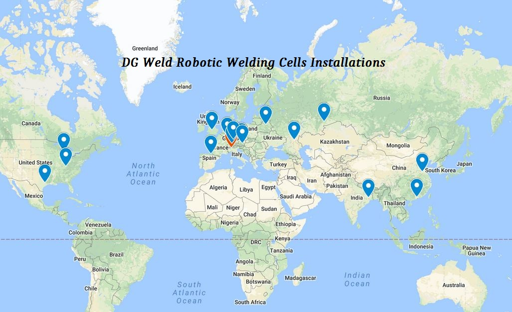 DGWeld Installed welding robots